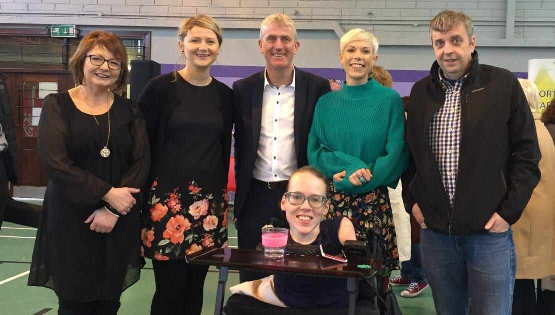 The Team with John Kiely, Jennifer Jones Hickey and Joanna O'Riordan at the Be Inspired event in Tipperary Town