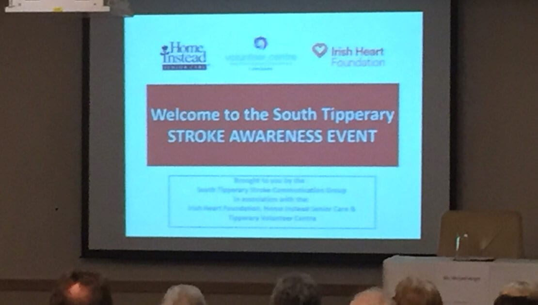 South Tipperary Stroke Awareness Event proudly supported by Tipperary Volunteer Centre